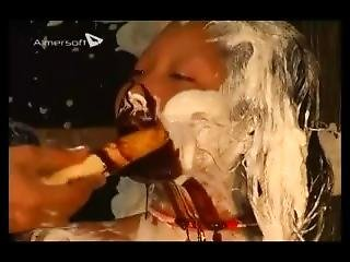 Asian Girls Pied And Slimed 15