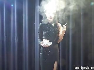 όμορφη, κάπνισμα