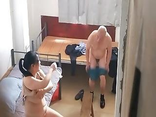 Real Asian Granpa And A Prostitute