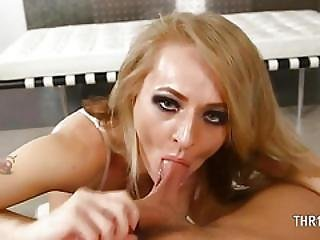 Perfect Blowjob With Really Nasty Glamour