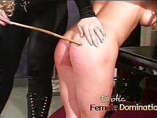 Two Horny Lezzies Enjoy Some Naughty And Kinky Dungeon Fun