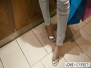 Loveherfeet The Gorgeous Girl Next Door With Perfect Feet