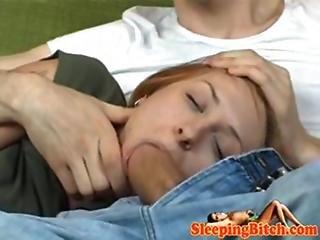 Guy Fucks Sleeping Girlfriend 1