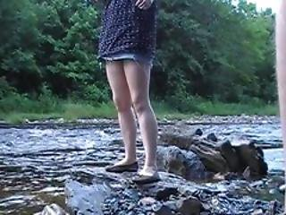Fucking Outside In Nature Milf