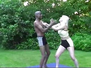 Mixed Wrestling Lily 5