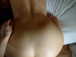 Hot Asian Fucked Doggystyle Until He Cums All Over Her Back
