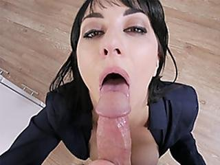 Busty Business Milf Stepmom Sucked A Stepsons Big Cock