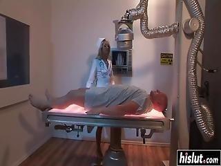 Hot Nurse Pleases A Fat Dick