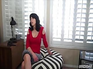 Ophelia And Amber Slutty Cousing No Panties Pov