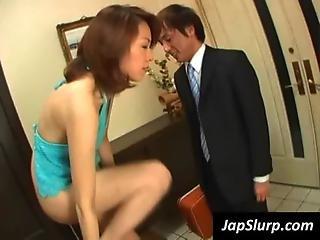 Asian Slag Suck Cock In Pov