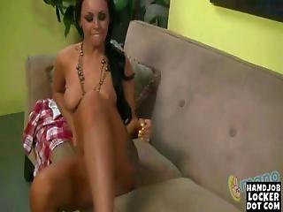 Brunette Loves To Finger Her Tight Pussy