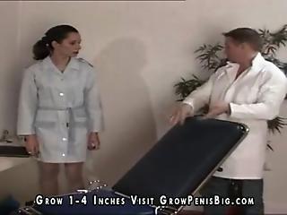 Skinny Slut Fucked In Clinic