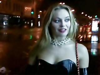 Anal, Blonde, Blowjob, Fucking, Outdoor, Prostitute, Stocking