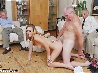 Old Big Boobs And Old Mature Hardcore Molly Earns Her Keep