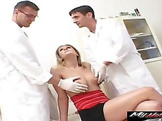 Jane Is Titty Fucked While Doing Check Up
