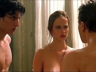 Eva Green Nude Wet Boobs And Hairy Bush In The Dreamers Scandalplanetcom