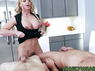Horny Stepmom Phoenix Marie Drilled While Sucking Dick