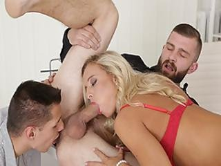 Victoria Pure And Nico A Sucking Peter As Cock