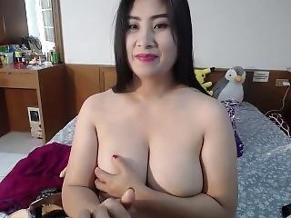 Busty Milf Thai Cam Show