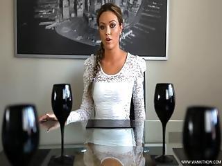 Brunette, Interview, Masturbation, Pussy