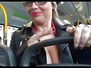 Double Pov 11 On A Bus In Public