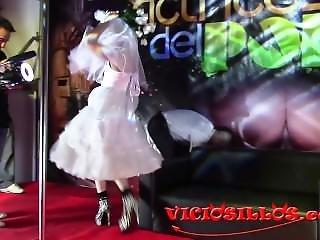 Blonde Wedding Dress Public Fuck