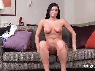 Casting Model Leaves After Hardcore Sex And Anal Hole Nailing