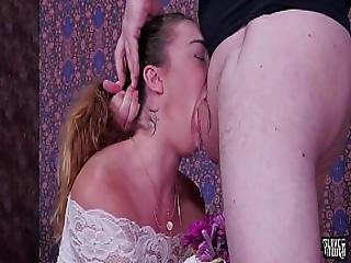 Big Ass Babe Kat Monroe Gets A Brutal Face Fucking Rimjob Punishment