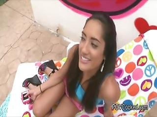 Perky Exotic Teen Bouncing On Big Cock