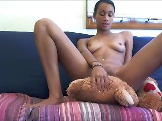 Pincess Zage Farting On Teedy Bear