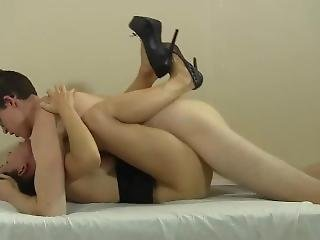 Legs Wrapped Around Him For Creampie