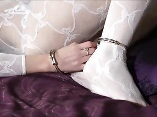 bondage, μελαχροινή, φετίχ