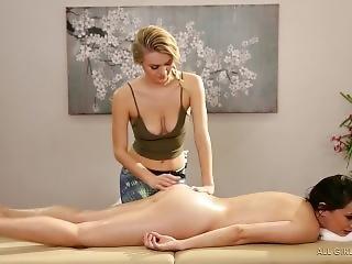 Natalia Starr And Georgia Jones-spa Confessions