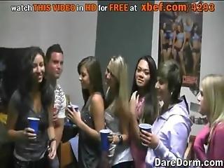 College Mates Having Fun. No Sex