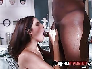 Afroinvasion Kara Price Loves Huge Black Dick