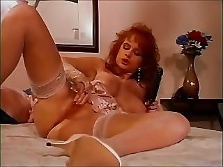 Aged, Dildo, Masturbation, Redhead, Squirt, Vintage