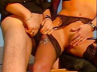 Great Cum On Black Stockings