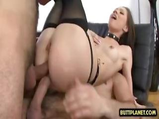 Hot Pornstar Threesome And Cumshot