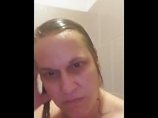 Milf Washes Off The Neighbors Cum Before Her Husband Finds Out!