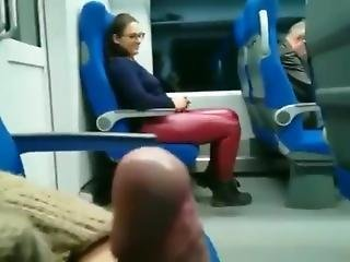 Seduce In Bus Showing Dick Public
