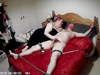Spreadeagled Post Orgasm Blowjob Torture Part 1 Of 4