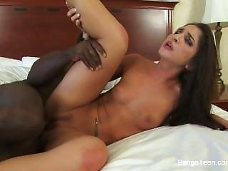 Black, Brunette, Fucking, Hardcore, Interracial, Pornstar, Slut, Teen