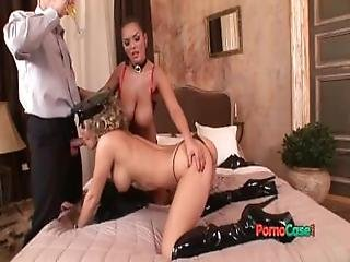Elegant Group Porn In Uniform