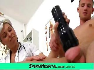 Cfnm Penis Medical Checkup With Gorgeous Czech Milf Doctor Beate