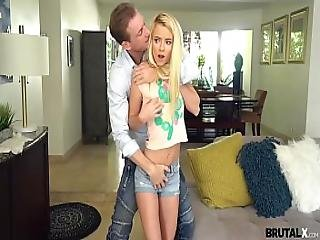 Brutalx - Fuck-punished Riley Star By Horny Stepdad