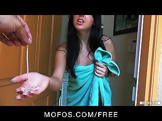 Mofos Public Pervert Spots A Stunning Babe In Lingerie
