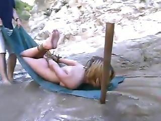 Star Likes Bathing Inside The Mountain Waterfall Inside Pain Pleasure Activity