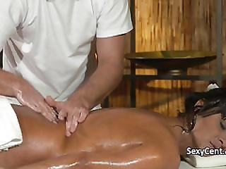 Tanned Milf Spunked All Over Pussy
