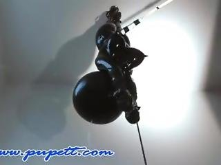 bondage, bambola, fetish, guanto
