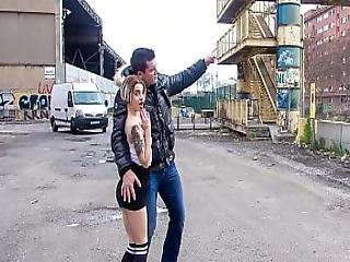 Chicas Loca - Crazy Public Sex With Tattooed Spanish Teen Mey Madness